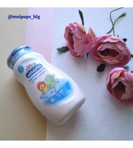 Детская присыпка с молочным экстрактом Lion Kodomo Baby Powder Gentle Soft