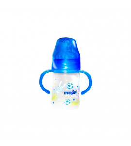 Бутылочка с ручками с широким горлышком 150 мл 6+ Mepsi