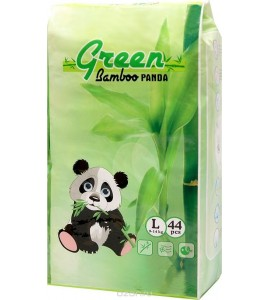 Подгузники-трусики Green Bamboo Panda L (9-14kg)
