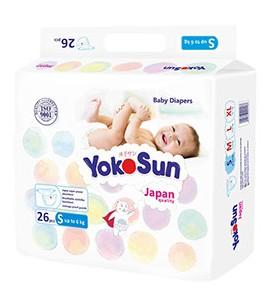 """Подгузники YokoSun, до 6 кг (S) """"mini"""""""