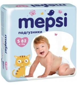 Подгузники Mepsi, 4-9 кг (S)