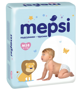 Трусики Mepsi, 6-11 кг (M)