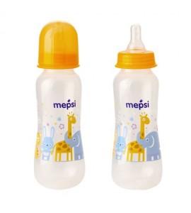 Бутылочка для кормления с силиконовой соской Mepsi 250 мл