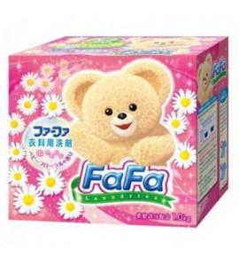 Концентрированный стиральный порошок NFJ FaFa Сакура, с кондиционером для детского белья, 850 гр.