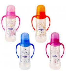 Бутылочка для кормления с ручками с силиконовой соской Mepsi 250 мл