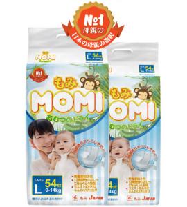 Подгузники Momi 9-14 kg