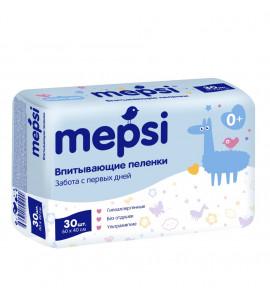 """Одноразовые пеленки """"Mepsi"""" 60х60 30шт"""