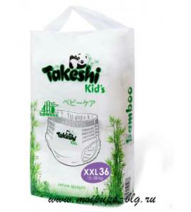 """Подгузники- трусики """" Takeshi Kids"""" 15-28 кг"""
