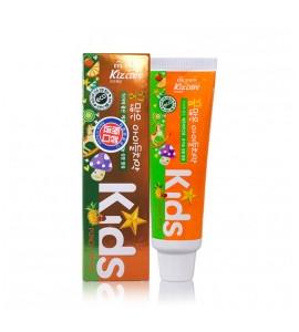 """Детская зубная паста Kizcare Kids """"Тропические фрукты"""" (с 2х лет), 80г"""