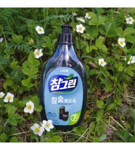 """Средство для мытья посуды CJ Lion Chamgreen """"Древесный уголь"""" 480 мл"""