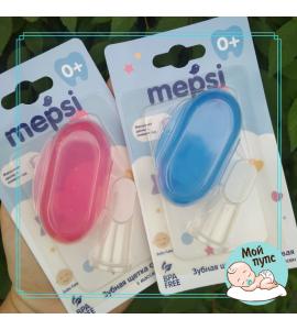 Зубная щетка - напальчник Mepsi 0+