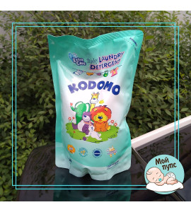 """LION """"Кодомо"""" Жидкое средство для стирки 1000мл для детских вещей (доп.уход) /мяг.уп."""