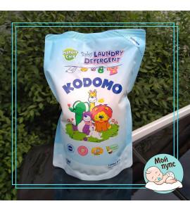 """LION """"Кодомо"""" Жидкое средство для стирки 1000мл для детских вещей (натур.уход) /мяг.уп."""